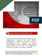 Presentacion Programacion Multianual 2015 2017