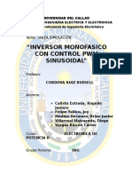 Inversor Monofasico Con Control Pwm
