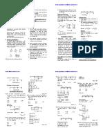 Geometria Ejercicios Del Primer Bimestre de Matematica de Tercero de Secundaria