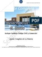 Derecho Civil, Guillermo Borda. Apunte Completo