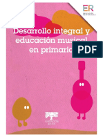 Desarrollo Integral y Educación Musical en Primaria