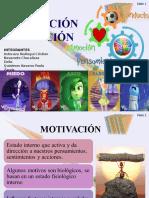 Exposicion Motivacion y Emocion Psicologia