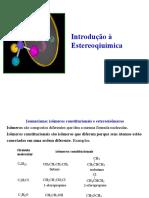 Aula - Estereoquímica (1)