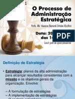 O Processo de Administraçao Estrategica