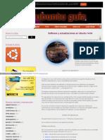 Software y Actualizaciones en Ubuntu 14.04