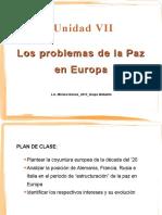 Problemas de La Paz en Europa