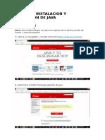 Tutorial Instalacion y Activacion de Java