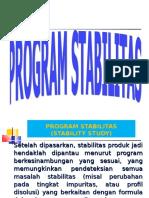 11. Program Stabilitas
