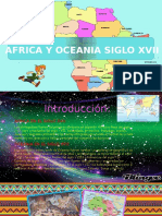 Africa y Oceanía en el siglo XVII
