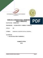 CONSTITUCIONAL GENERAL Tarea de Investigacion Informativa -UNIDAD II