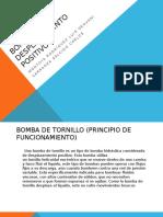 Bombas de Desplazamiento Positivo Exposicion