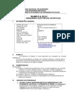 12-01-2016 Sylabus Máquinas Eléctricas Estáticas Uni Ciclo de Nivelación 2015-3