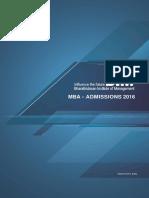 BIM-MBA Admissions 2016 EBrochure