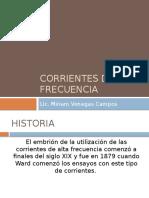 Corrientes de Alta Frecuencia Onda Corta (1)