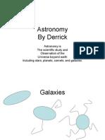 Derrick Astronomy