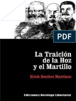 La Traicion de La Hoz y El Martillo - Erick Benitez Martinez