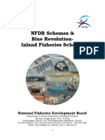 Guidelines NFDB Schemes & Blue Revolution-Inland Fisheries Schemes