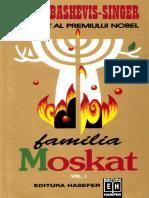 Isaac Bashevis Singer -Familia Moskat Vol. I