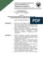 15. Sk Kapus Tentang Penyelenggaraan Kontrak