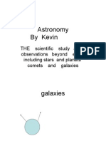 Kevin Astronomy