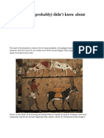 10 Things You Didn't Know About Ancient Egypt