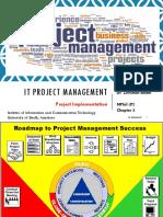 IT Project Management Chapter 6 Project Implementation