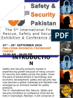 Safety & Security Pakistan 2016