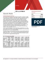 Nomura - Quick Note - Tata Motors -Errclub JLR US Retail Sales Up 29% Y-y in March