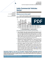 CS- India Commercial Vehicles Sector -Errclub Where Are We in the Cycle