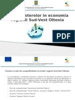 1.1.Rolul Clusterelor in Economia Regiunii Sud Vest OlteniaMBOGHEANU
