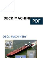 Deck Machinery Exercise