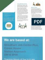 living well network hub - leaflet
