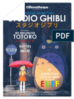 Cinematheque-Studio Ghibli (2012)