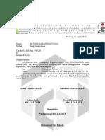 Surat Izin - Ruang Seminar Rupantama - 2014