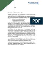 7073 National Media Provident Fund Rate Letter 1109