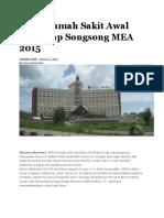 Grup Rumah Sakit Awal Bros Siap Songsong MEA 2015