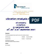 Vibration Analysis Generator Sets