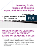 Learning Style, Differences of Thinking Style,.pptx