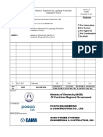 KP-00+++-CY712-BKM7109 Method Statment For Lightning Protection System Installation Works