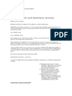 63826_Level 5_Definite and Indefinite Articles