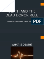 Death and the Dead Donor Rule