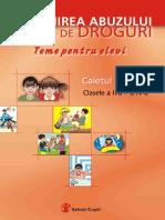 Prevenirea Abuzului de Droguri_II-IV