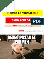 Farmacología - CLASE 01 y 02