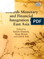 Hamada Koichi 2009 Towards Monetary and Financial Integration in East Asia