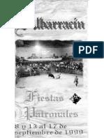 Albarracin Prog Fiestas 1999