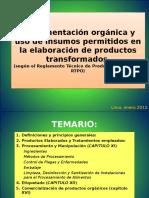 RTPO Insumos Permitidos en Transformados