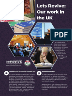 Let's Revive - Supporting the UK projects