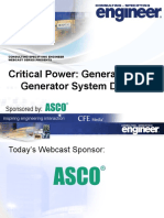 Generators and Generator System Design