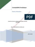 TD Et Corrigé de La Comptabilité Analytique