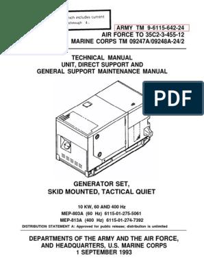 Military 24 Volt Generator Wiring Diagram. . Wiring Diagram on